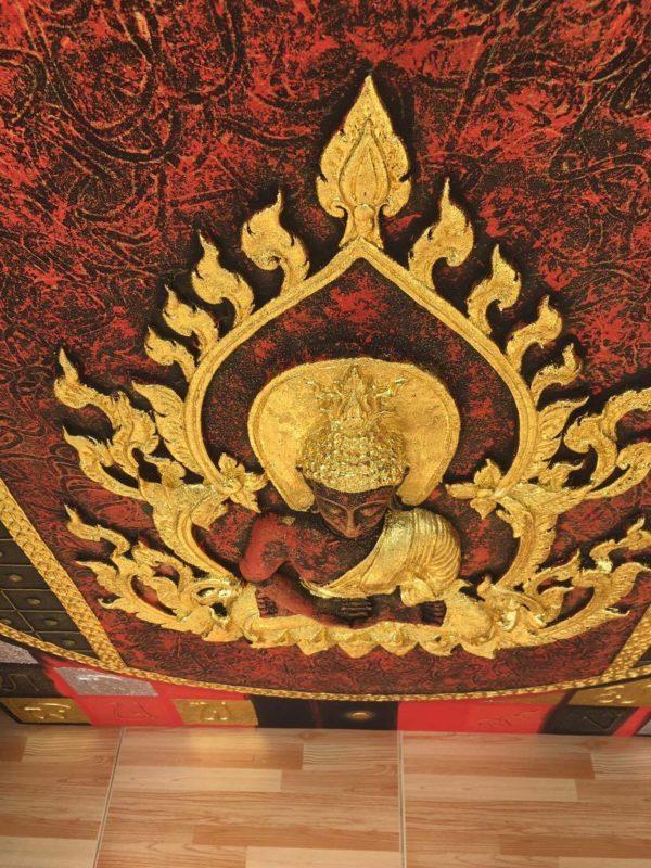 Tableau Peinture Thailande Ancient Thai Buddha Wall Art