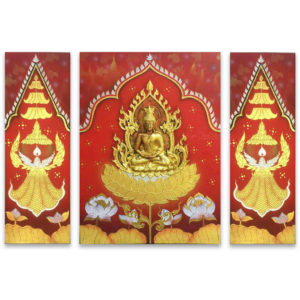 Tableau Peinture Thailande Buddha Art On Heaven Painting
