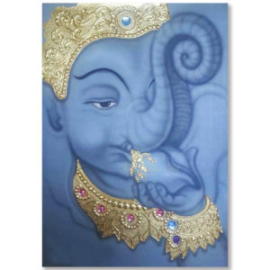 Tableau Peinture Thailande Ganesha Art Painting On Canvas