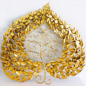 Tableau Peinture Thailande Large Metal Tree Wall Art Golden Banyan