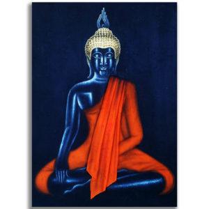 Tableau Peinture Thailande Meditating Buddha Canvas Painting
