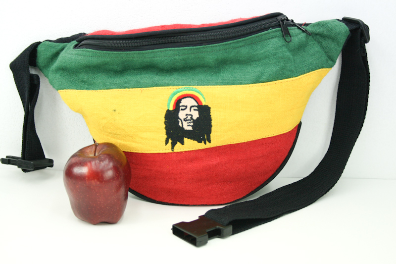 grossiste rasta grossiste asie sac banane bob marley chanvre porter la taille avec ceinture. Black Bedroom Furniture Sets. Home Design Ideas