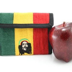 Portefeuille Zip Bob Marley 13x10 cm