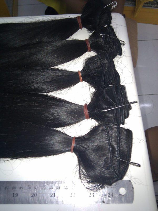 REMY HAIR CHEVEUX VIERGES DU CAMBODGE TISSAGE EXTENSION 76 CM 30 POUCES