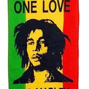 Drapeau Bob Marley Jeune