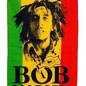 Drapeau Photo Bob Marley