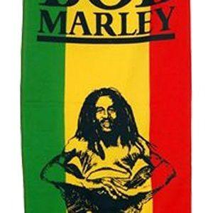 Drapeau Bob Marley Assis