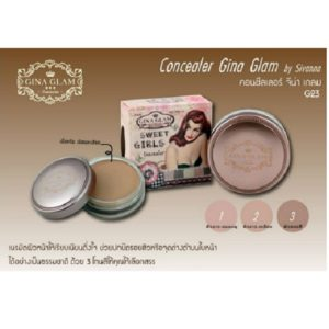 THAI MAKEUP GINA GLAM SWEET GIRLS CONCEALER