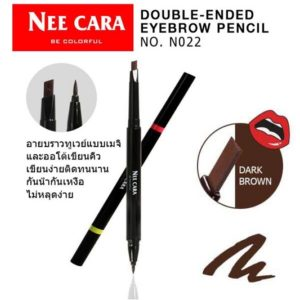 NEE CARA EYEBROW 2 WAY BE COLORFUL THAI COSMETIC