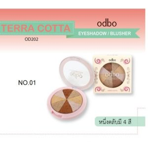 ODBO TERRA COTTA EYESHADOW