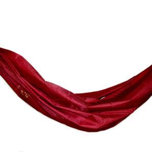 Hamac Tissus Nylon rouge Parachute