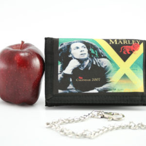 Portefeuille Chaîne Bob Marley 13x10 cm