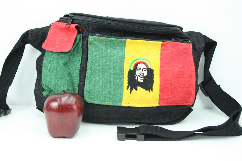 grossiste rasta vente en gros tha lande sac banane bob marley chanvre peu epais bandes vert. Black Bedroom Furniture Sets. Home Design Ideas