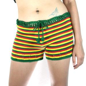 Short Crochet Extensible Maillot Sexy pour Femme