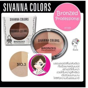 SIVANNA COLORS BRONZED HIGHLIGHT SHADING