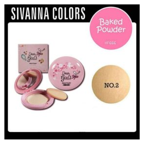SIVANNA COLORS DEAR GIRLS BAKED POWDER