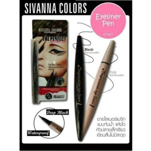 THAI MAKEUP SIVANNA COLORS EYELINER MAGIC