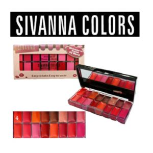THAI MAKEUP SIVANNA COLORS MATTE LIPSTICK SET