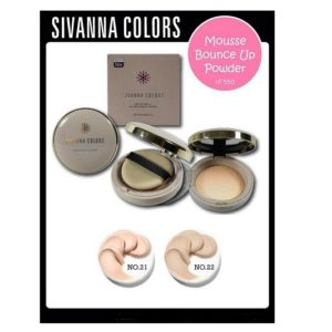 SIVANNA COLORS MOUSSE POWDER