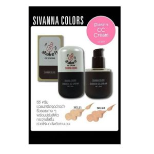 THAILAND COSMETIC SIVANNA COLORS SHAKEN CC CREAM